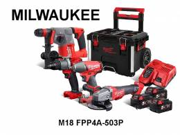 Σετ Milwaukee M18 FPP4A 503P
